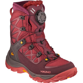 Viking Footwear Constrictor III Boa Boots Unisex wine/dark red